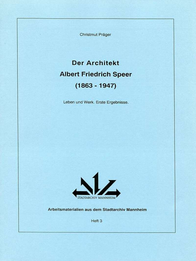 Der Architekt Albert Friedrich Speer