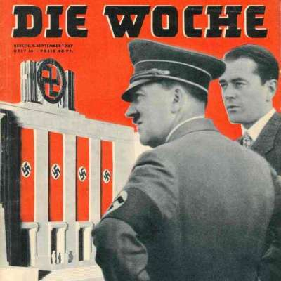 Cover Die Woche, 8.9.1937